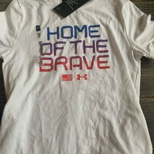 Fourth of July Under Armour tee